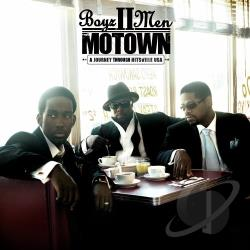 Boyz II Men - Motown: A Journey Through Hitsville USA CD Cover Art