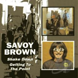 Savoy Brown - Shake Down/Getting to the Point CD Cover Art