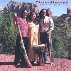 Kalu, Jesse - One Heart Live In Sedona CD Cover Art
