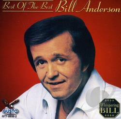 Anderson, Bill - Best of the Best CD Cover Art