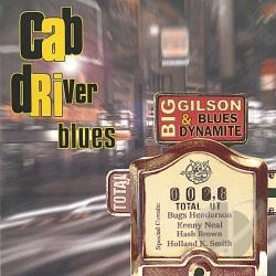 Gilson, Big - Cab Driver Blues CD Cover Art