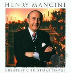Mancini, Henry - Greatest Christmas Songs CD Cover Art