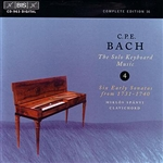 Spanyi, Miklos - C.P.E. Bach: The Solo Keyboard Music, Vol. 4 CD Cover Art