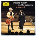 Argerich, M / Maisky - Mischa Maisky and Martha Argerich in Concert CD Cover Art
