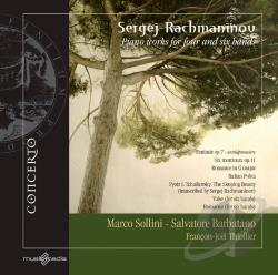 Barbatano / Rachmaninov / Sollini / Thoillier - Rachmaninov: Piano Works for Four and Six Hands CD Cover Art