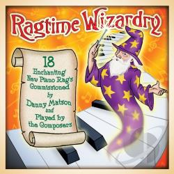 Ragtime Wizardry CD Cover Art