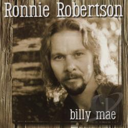 Robertson, Ronnie - Billy Mae CD Cover Art