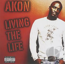 Akon - Living The Life CD Cover Art