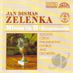 Zelenka - Zelenka: Missa In D / Responsoria CD Cover Art