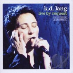 Lang, K.D. - Live by Request CD Cover Art