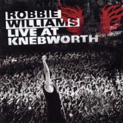 Williams, Robbie - Live From Knebworth CD Cover Art