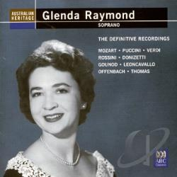 Raymond, Glenda - Glenda Raymond: The Definitive Recordings CD Cover Art