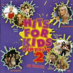 Hits for Kids: Pop Party, Vol. 2 CD Cover Art