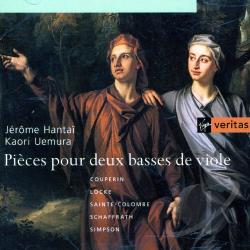 Hantai, Jerome / Uemura, Kaori - Pieces For Two Bass Viols CD Cover Art