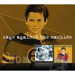 Rage Against The Machine - Rage Against the Machine/Evil Empire CD Cover Art