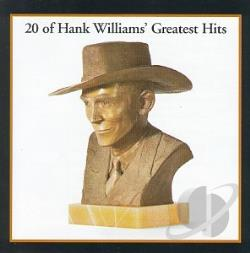 Williams, Hank - Greatest Hits CD Cover Art