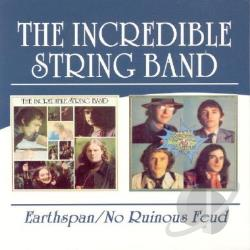 Incredible String Band - Earthspan/No Ruinous Feud CD Cover Art