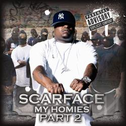 Scarface - My Homies Part 2 CD Cover Art