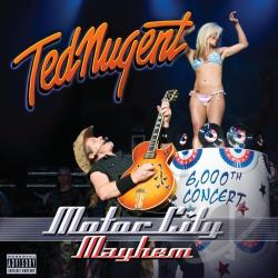Nugent, Ted - Motor City Mayhem CD Cover Art