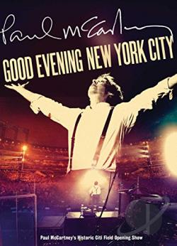 McCartney, Paul - Good Evening New York City CD Cover Art