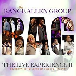 Rance Allen Group - Live Experience II CD Cover Art