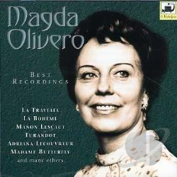 Olivero, Magda - Best Recordings CD Cover Art