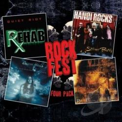 Hanoi Rocks / Harris, Lauren / Quiet Riot / Veil Of Sorro - Vol. 1 - Rockfest Four - Pack CD Cover Art