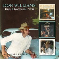 Williams, Don - Visions/Expressions/ Portrait CD Cover Art