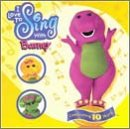 Barney - I Love to Sing with Barney CD Cover Art