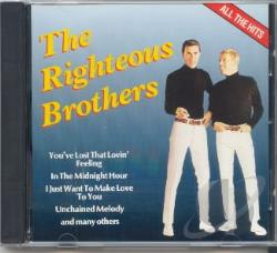 Righteous Brothers - All The Hits CD Cover Art