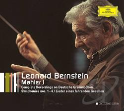 Bernstein, Leonard / Mahler / NYP / Vpo - Mahler I: Complete Recordings on Deutsche Grammophon CD Cover Art