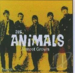 Animals - Almost Grown CD Cover Art