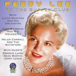 Peggy Lee (Vocals) - Live At The Supper Club: 1946-1949 CD Cover Art