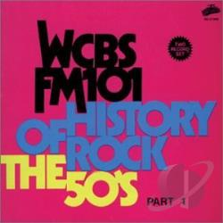 History of Rock: The 50s, Pt. 1 CD Cover Art