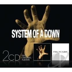 System Of A Down - System of a Down/Steal This Album CD Cover Art