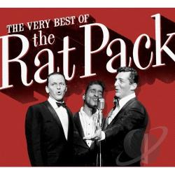 Davis, Sammy Jr. / Martin, Dean / Rat Pack / Sinatra, Frank - Very Best of the Rat Pack CD Cover Art