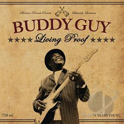 Guy, Buddy - Living Proof LP Cover Art