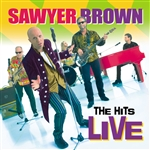 Sawyer Brown - Hits Live CD Cover Art