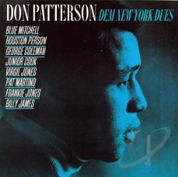 Patterson, Don - Dem New York Dues CD Cover Art
