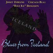 Dawkins, Jimmy - Blues from Iceland CD Cover Art