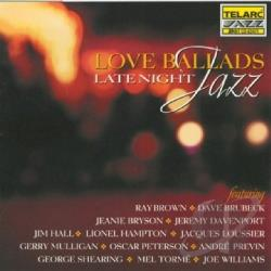 Love Ballads: Late Night Jazz CD Cover Art