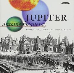 Jupiter - Forqueray: Pieces de Viole CD Cover Art
