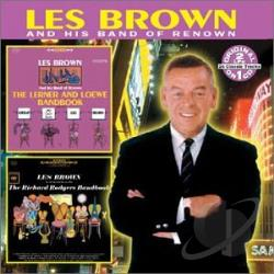 Brown, Les - Lerner and Loewe Bandbook/Richard Rodgers Bandbook CD Cover Art