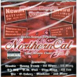 Mindsicc - Northerncal Volume 2 CD Cover Art