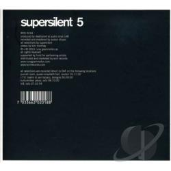 Supersilent - 5 CD Cover Art