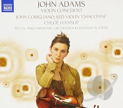 Adams / Royal Po - John Adams: Violin Concerto; John Corigliano: Red Violin Chaconne CD Cover Art