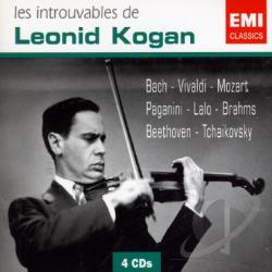 Kogan, Leonid - Les Introuvables Leonid Kogan CD Cover Art