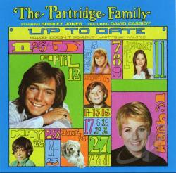 Partridge Family - Up to Date CD Cover Art