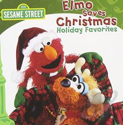Sesame Street - Elmo Saves Christmas CD Cover Art