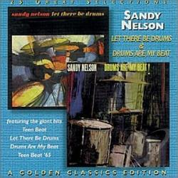 Nelson, Sandy - Let There Be Drums/Drums Are My Beat! CD Cover Art